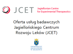 Offer of research services of the Jagiellonian Center for Drug Development (JCET)